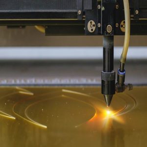 laser cutting polyimide tape
