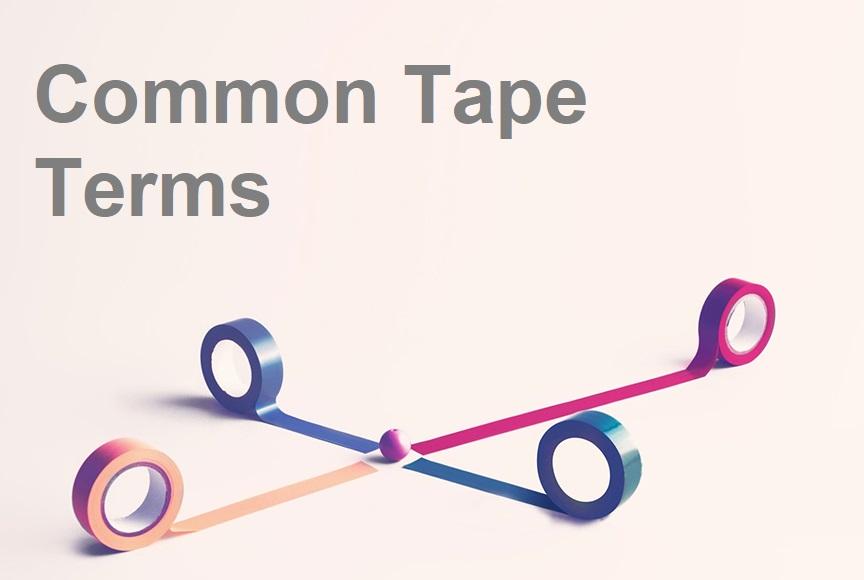 4 rolls of PVC floor marking tape